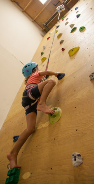 summer-camp-climbing-wall
